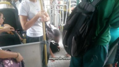 Estudantes que têm direito ao transporte gratuito não usam o cartão do transporte coletivo - Eles entram pela porta traseira dos ônibus