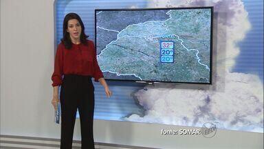 Confira a previsão do tempo para este sábado na região de Ribeirão Preto - Sol predomina na maior parte do dia.