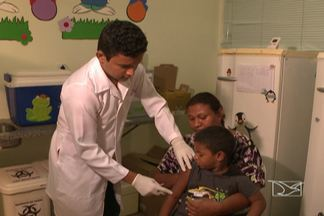 Prorrogada na região metropolitana de São Luís, a campanha de vacinação contra o sarampo - A campanha terminaria hoje, mas foi estendida porque o número de crianças imunizadas está 45% abaixo do previsto na meta do Ministério da Saúde.