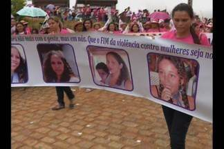 Marcha das Mulheres aconteceu em Esperança, na Paraíba - Elas pedem justiça e o fim da violência contra a mulher.