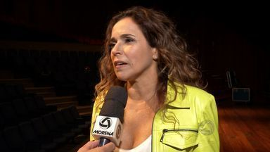 Daniela Mercury fará show beneficente em Campo Grande - A cantora Daniela Mercury está em Campo Grande para dois shows beneficentes em prol do Hospital do Câncer.