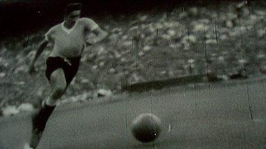 Cineastas uruguaios lançam filme sobre conquista da Copa do Mundo de 1950 no Brasil - Esporte Espetacular foi a pré-estreia do documentário em Montevidéu, e falou com o carrasco uruguaio Ghiggia.