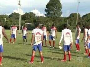 Time do Piauí treina e se prepara para jogo contra o Parnahyba - Time do Piauí treina e se prepara para jogo contra o Parnahyba