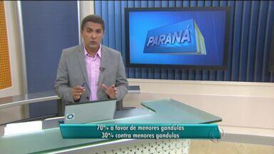 Pesquisa mostra que maioria é a favor de que adolescentes sejam gandulas na Copa - O Paraná TV quis saber quem é a favor e quem é contra menores trabalharem voluntariamente como gandulas na Copa do Mundo em Curitiba.