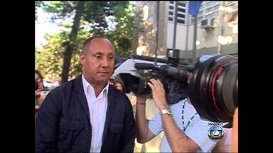 PM acusado de encomendar assassinato da Juíza Patrícia Accioli depõe no Rio - Tenente-coronel, Cláudio Oliveira é o sétimo réu. Outros seis já foram condenados. Juíza Patrícia Acioli foi executada com 21 tiros, na porta de casa, em agosto de 2011, em Niterói, Região Metropolitana do Rio de Janeiro.