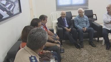 Governador do Acre se reuniu com Confúcio Moura nesta quinta-feira - Ele quer evitar o isolamento do estado, que pode acontecer, caso a BR-364 seja fechada para o tráfego