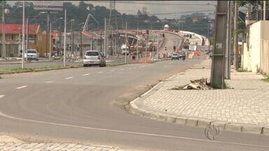 A Avenida Marechal Floriano é bloqueada ao tráfego entre Curitiba e São José dos Pinhais - O bloqueio é só neste sábado pro causa das obras na avenida.