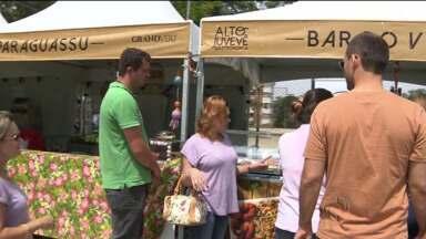 Feira gastronômica movimenta o Juvevê - A feira acontece sábado até às 19 horas e domingo a partir das 11 horas.