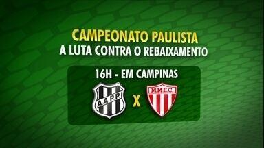 Veja como está a briga contra o rebaixamento no Paulista - Última rodada ocorre neste domingo, dia 23 de março