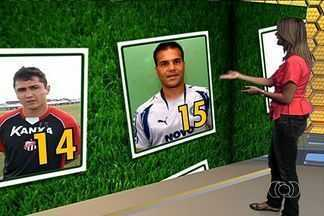 Harlei e Nonato são eleitos os craques da rodada - Goleiro do Goiás e atacante do Goianésia recebem 50% dos votos.