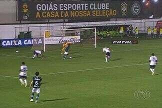Goiás se prepara para semifinal contra o Goianésia - Verdão venceu os dois confrontos na primeira fase do Campeonato Goiano, mas prega respeito.