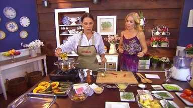 Aprenda a fazer o peixe fácil da Carol Ferraz! - Atriz mostra que manda bem na cozinha do Estrelas