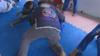 Manaus recebe edição da Copa América de Jiu-Jitsu - Evento ocorre no ginási do Ninimbergue Geurra, na Zona Oeste de Manaus.