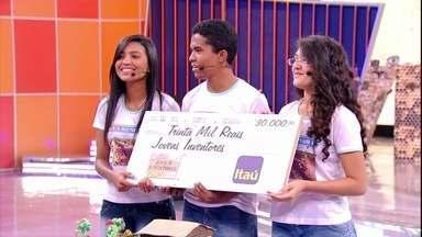 Estudantes do Ceará conquistam R$ 30mil no Jovens Inventores - Trio inventou sistema de reaproveitamento de água após seca