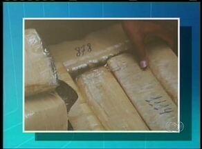 Polícia destrói cerca de 200 kg de droga em Guaraí - Polícia destrói cerca de 200 kg de droga em Guaraí