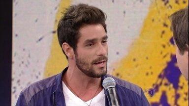 Ex-Brother Diego fala que encara namoro com Fran - Último eliminado do BBB responde às perguntas da galera