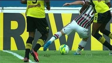 Fluminense vence Volta Redonda por 3 a 1, e garante vantagem para semifinal - Equipe enfrenta Vasco na próxima fase, podendo empatar.