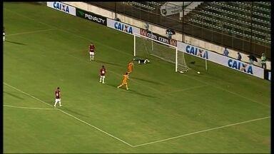 Brasiliense derrota o Brasília pela partida de ida das semifinais da Copa Verde - Jacaré venceu por 2 a 0, com gols de Zé Roberto e Laécio.