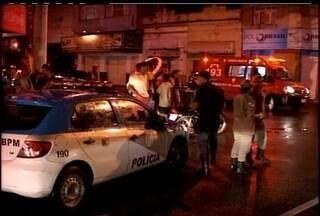 Polícia prende suspeito de matar homem no trânsito de Campos, no RJ - Rondinely Mendes Natal, de 31 anos, foi detido em Macuco.Ele é apontado como assassino do jovem Felipe Vieira, de 28 anos.
