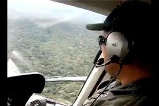 Continuam as buscas por bimotor desaparecido - Sensor de aeronave que participa de buscas captou imagem que pode revelar localização do bimotor desaparecido desde a última semana nas proximidades do município de Jacareacanga.