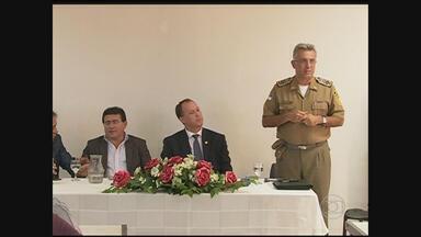 Aumento dos crimes é discutido em Serra Talhada - SDS e Comissão de Segurança do município se reuniram e apresentaram ações para diminuir a criminalidade no município.