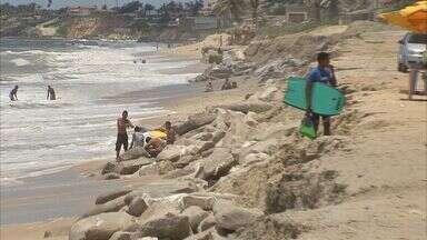 Labomar elabora projeto de contenção do avanço da Praia do Icaraí, em Caucaia - Projeto é estimado pela prefeitura de Caucaia em R$ 30 milhões.