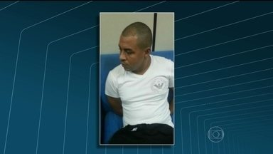 Polícia Federal conta detalhes da operação que prendeu o Menor P - O traficante Marcelo Santos das Dores era investigado há um ano. Até um Veículo Aéreo Não Tribulado chegou a ser usado para monitorar o criminoso. A PF vai pedir a transferência dele para um presídio federal.