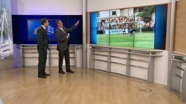 Vitória-ES tira vantagem de dois gols e consegue empate com líder Estrela - Com o 2 a 2, no Salvador Costa, Alvinegro segue na liderança isolada, agora com 21 pontos. Já o Alvianil permanece fora da zona de classificação, com 12 pontos