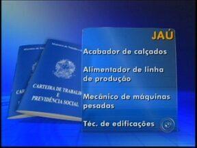 Ourinhos e Jaú ofecerem vagas de emprego nesta semana - Interessados devem procurar o Posto de Atendimento ao Trabalhador de cada cidade com os documentos pessoais. São oportunidades para várias áreas de atuação.