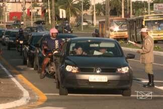 A partir de hoje (31), trânsito do bairro Renascença II está modificado - A medida foi tomada para facilitar a circulação de veículos e diminuir os congestionamentos.
