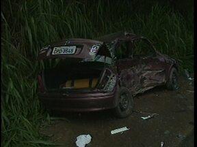 Em Criciúma, acidente deixa dois feridos na SC-108 - Em Criciúma, acidente deixa dois feridos na SC-108