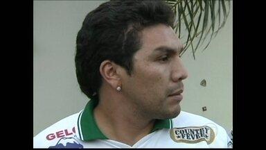 Tanabi apresenta Cabañas para a disputa da quarta divisão paulista - Paraguaio foi o carrasco do Flamengo na Libertadores de 2008 quando ainda atuava no América do México.