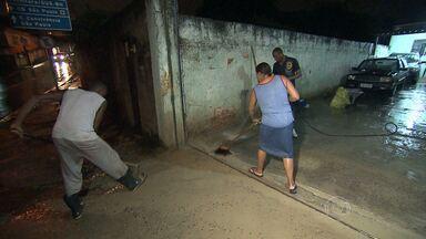 Forte chuva causa estragos em Belo Horizonte - Vários bairros da regiões Nordeste e Pampulha ficaram sem luz. Houve muitos pontos de alagamento na cidade.