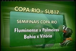 Fluminense derrota o Flamengo na Copa Rio Sub-17, em Cabo Frio, RJ - Semifinais vão ocorrer na próxima sexta.