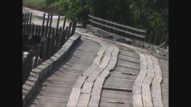 Distritos do município de Chupinguaia, no Cone Sul, estão praticamente isolados - A chuva castiga a região.