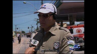 Trânsito continua bloqueado por causa do desabamento do Moinho Motrisa - O supervisor de Fiscalização de Trânsito da SMTT, Hugo Borges, fala sobre o trânsito na região que permanece bloqueado desde que ocorreu o acidente.