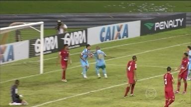 Paysandu sai na frente e vence primeiro jogo da Copa Verde contra o Brasília - Equipe de Belém venceu o adversário por 2 a 1 no Mangueirão.