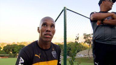 Atlético-MG apresenta lateral-esquerdo Emerson Conceição - Jogador foi contratado depois de passar muito tempo no futebol europeu