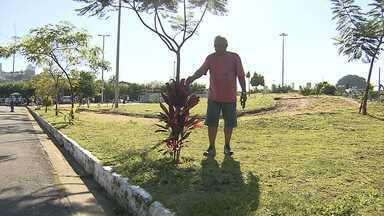 'Síndico' de parque é um dos finalistas do Prêmio Bom Exemplo - Otávio dos Santos é finalista na categoria cidadania.
