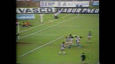 Londrina já venceu rival histórico em decisão estadual - Em 1981, Tubarão bateu o Grêmio Maringá e garantiu seu segundo título paranaense