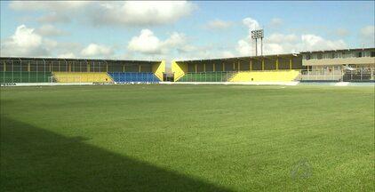 Estádio da Graça se prepara para ser reaberta com jogos do Paraibano nesta quarta-feira - Laudos já foram entregues e a tendência é que dois jogos aconteçam no local na rodada deste meio de semana.
