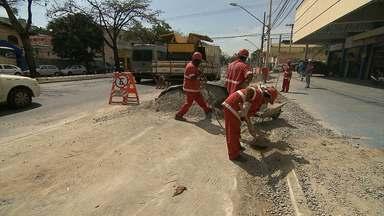 Comerciantes reclamam de obras na Avenida Pedro II - Área de estacionamento vai ser retirada