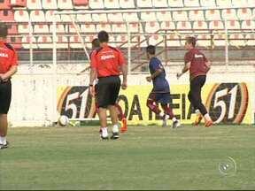 Ituano se prepara para a final contra o Santos - O clima no Ituano é de otimismo. Nesta quarta-feira (9) o clube fez o último treino aberto para a imprensa antes do último jogo contra o Santos, no Pacaembú, neste domingo (13).