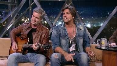 Victor & Léo cantam Guerreiro - Músicos explicam que canção não foi inspirada na Copa do Mundo
