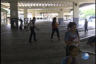 Movimento na rodoviária de Salvador é tranquilo nesta segunda - Cerca de dez mil pessoas deixaram Salvador pela rodoviária para passar o feriadão no interior do estado.