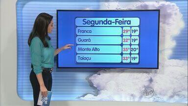 Veja como fica o tempo no feriado de Tiradentes na região de Ribeirão Preto - Tempo firme e calor marcam a segunda-feira (21).