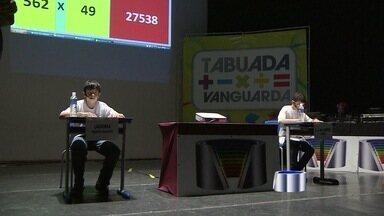 Estudante de São José dos Campos, SP, vence Tabuada Vanguarda - Trinta e quatro cidades e mais de cinquenta mil alunos participando. Essas são as contas da 7ª edição da Tabuada Vanguarda, que chegou ao final na sexta-feira.