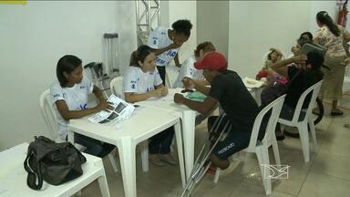 Hoje é dia de cidadania e ação - Cidade universitária da UFMA recebe a 21ª edição do Ação Global, um projeto da Rede Globo em parceria com o Sesi.