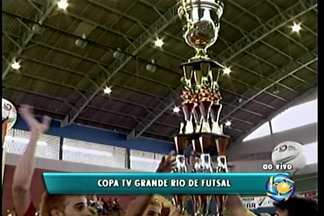Final da 18ª Copa TV Grande Rio de Futsal encerra com festa - Transmissão aconteceu ao vivo na manhã deste sábado (26)