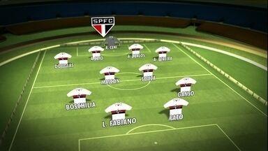 Sao Paulo se prepara para duelo contra o Cruzeiro em Minas Gerais - Sao Paulo se prepara para duelo contra o Cruzeiro em Minas Gerais
